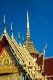 Art of Temple. On Bangkok, Thailand Wat Pha Kaew is landmark  and have history of Thai royal Royalty Free Stock Photos