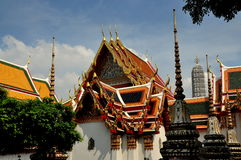 Bangkok, Thailand:  Wat Pho Stock Photos