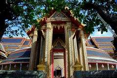 Bangkok, Thailand: Wat Ratchapophit Temple Royalty Free Stock Images
