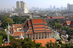 Bangkok, Thailand: Wat Saket Royalty Free Stock Image