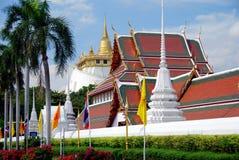 Bangkok, Thailand:  Wat Saket & Golden Mount Royalty Free Stock Images
