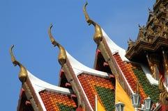 Bangkok, Thailand: Wat Yannawa Chofahs Royalty Free Stock Photography