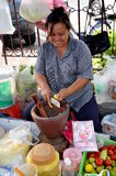 Bangkok, Thailand: Woman Food Vendor Royalty Free Stock Photography