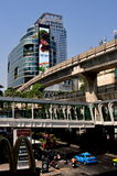 Bangkok, Thailand: Zen Department Store & Skytrain Stock Photos