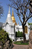 Bangkok, ThailandL Wat Ratchabophit Royal Tombs Stock Photo