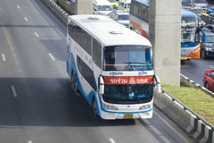 Bangkok to Phu Ruea in Loei Province bus car Stock Photo