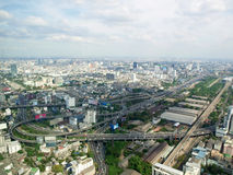 Bangkok from the top Stock Photo