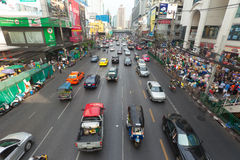 Bangkok traffic Stock Images