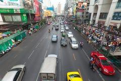 Bangkok Traffic. BANGKOK - JANUARY 14. Business congested traffic on January 14, 2012 in Bangkok, Thailand. Even with improved public transport, traffic Royalty Free Stock Images