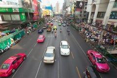 Bangkok Traffic. BANGKOK - JANUARY 14. Business congested traffic on January 14, 2012 in Bangkok, Thailand. Even with improved public transport, traffic Stock Image