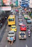 Bangkok traffic Stock Images