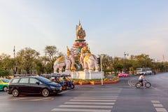 Bangkok traffic Stock Image