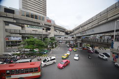 Bangkok traffic Stock Photo