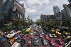 bangkok trafik Arkivbilder