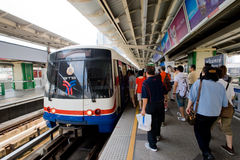 Bangkok Train Station Royalty Free Stock Photos