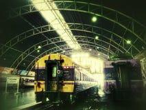 Bangkok train station Stock Photos