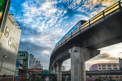 Bangkok tranportation Obrazy Royalty Free