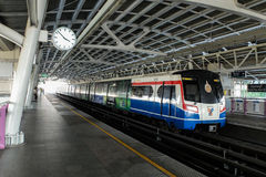 Bangkok Transport System (BTS). BTS as one of important transportation in Bangkok Stock Photo