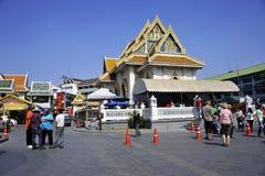 Bangkok travel,bangkok street Royalty Free Stock Photos