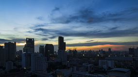 Bangkok twilight Stock Photography