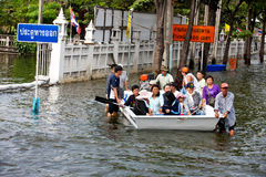 Bangkok Underwater Stock Image
