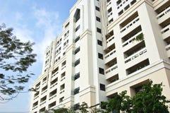 Bangkok university. Faculty building at a university in Bangkok stock photography