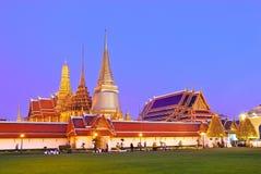 bangkok uroczysty kaew pałac pra zmierzchu wat zdjęcie stock