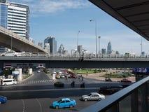 Bangkok utmärkt trafik Royaltyfri Fotografi