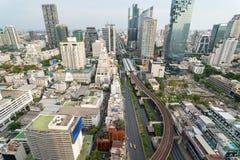 Bangkok van hierboven Stock Afbeeldingen