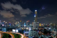 Bangkok-Verkehr lizenzfreie stockfotos