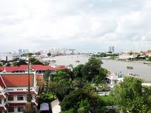 Bangkok. View from arun temple Stock Photo
