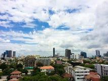 Bangkok view. Bangkok bird eye view Royalty Free Stock Photography
