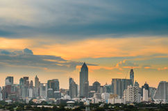 The bangkok view Royalty Free Stock Photo