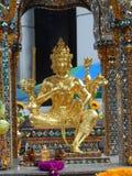 Bangkok vindt zijn wortels aan een kleine handelpost tijdens het Ayutthaya-Koninkrijk in de 15de eeuw, die uiteindelijk en becam  stock fotografie