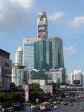 Bangkok vollzieht seine Wurzeln zu einer kleinen Handelsstation während des Ayutthaya-Königreiches im 15. Jahrhundert nach, das s stockbild