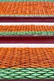 bangkok w świątynnej Thailand religii mozaice Zdjęcie Stock
