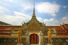Bangkok Wat Phra Kaew (The Emerald Buddha) Royalty Free Stock Photo