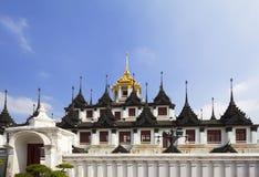 Bangkok. Wat Ratchanadda. Stock Photos
