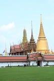 bangkok watprakeaw Arkivfoton