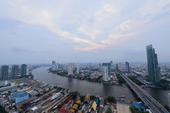 Bangkok widoku dzień Obraz Royalty Free