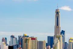 Bangkok-Wolkenkratzer Lizenzfreies Stockfoto