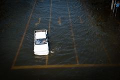 Bangkok worst flood in 2011 Royalty Free Stock Images