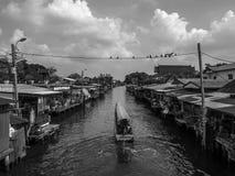 Free Bangkok Yai, THAILAND - MARCH 30, 2017 : Bangkok Yai Old Town Waterfront, Landmark With Old Building Village In Bangkok Yai Royalty Free Stock Photo - 139085215