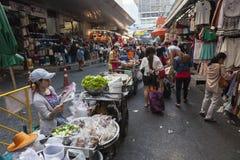 Bangkok zakupy ulica Obrazy Royalty Free
