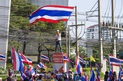 Bangkok zamknięcie: Jan 14, 2014 Obraz Stock