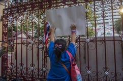 Bangkok zamknięcie: Jan 14, 2014 Obrazy Royalty Free