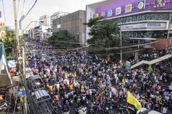 Bangkok zamknięcie: Jan 13, 2014 Obraz Royalty Free