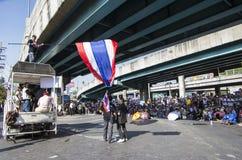 Bangkok zamknięcie: Jan 13, 2014 Obraz Stock
