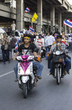 Bangkok zamknięcie: Jan 13, 2014 Obrazy Royalty Free