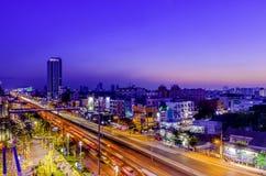 Bangkok zmierzch Zdjęcia Royalty Free